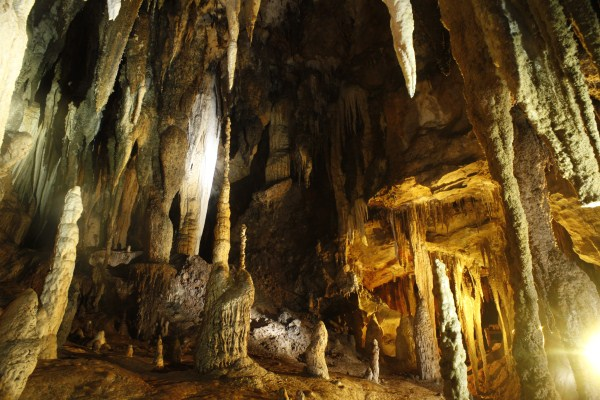 Amazing caves dot the Ao Luk area