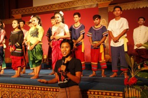 The final comments by Cambodian Living Arts
