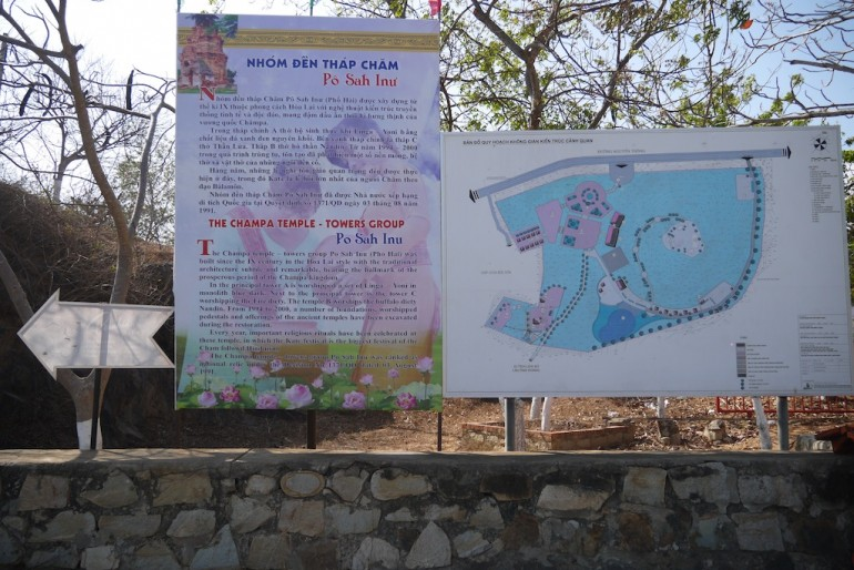 Po Shanu Information Board and Map