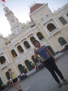 Cato al Ho Chi Minh City Hall