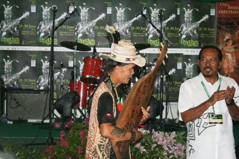 Lan E Tuyang at Rainforest World Music Festival