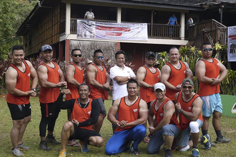 The Sarawak Ironman contestants