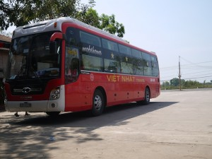 The bus to Mui Ne
