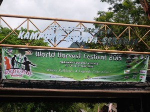 The event banner