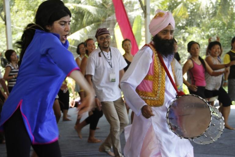 Sarina Jain with Punna