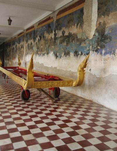 Chariot - Phnom Penh Royal Palace