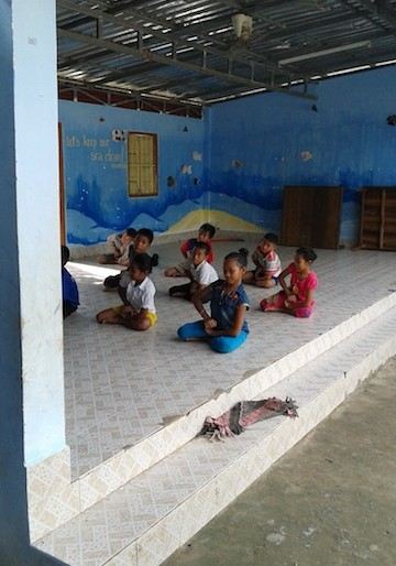 Kids at the centre