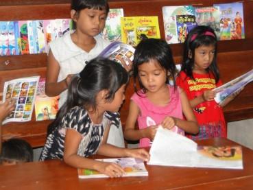 Via del Campo children's house of Phoum Thmey