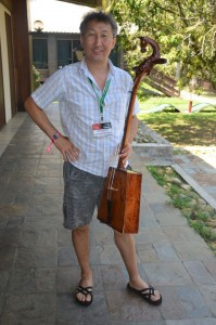 Epi with his fiddle