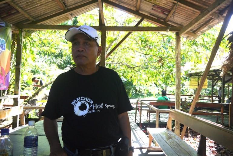 Headman of the area Mr Sirau Lungkis