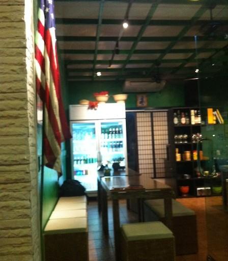 Buddy's Bistro Terrace interior
