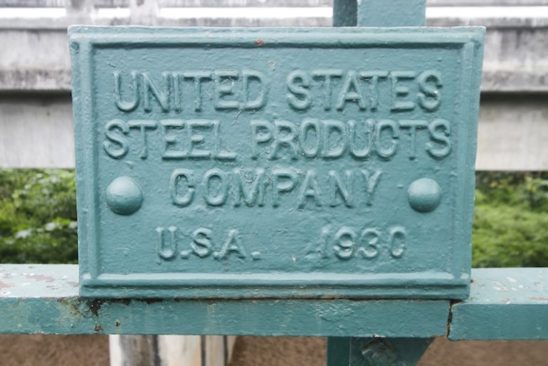 Steel producer of Pai memorial bridge
