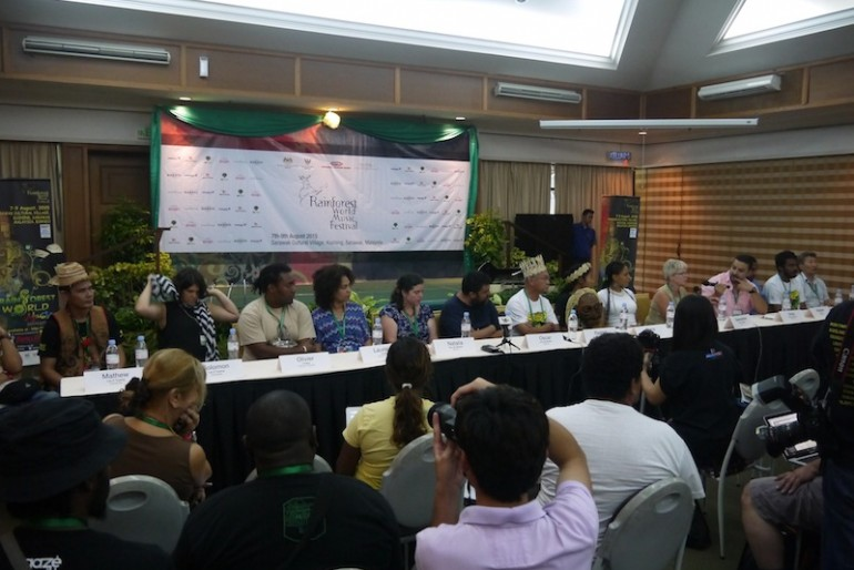 Press conference first day