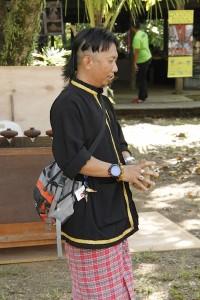 Tribal man at SCV