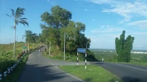 Way to Kampung Haji Wahed