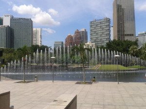 KLCC fountains