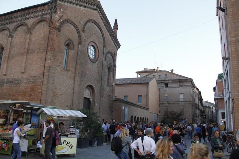 The Sedaa concert venue in Ferrara