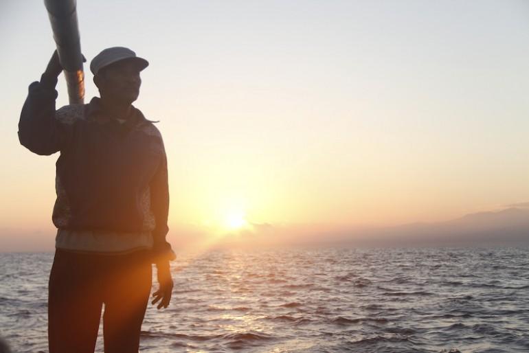My brave boatman