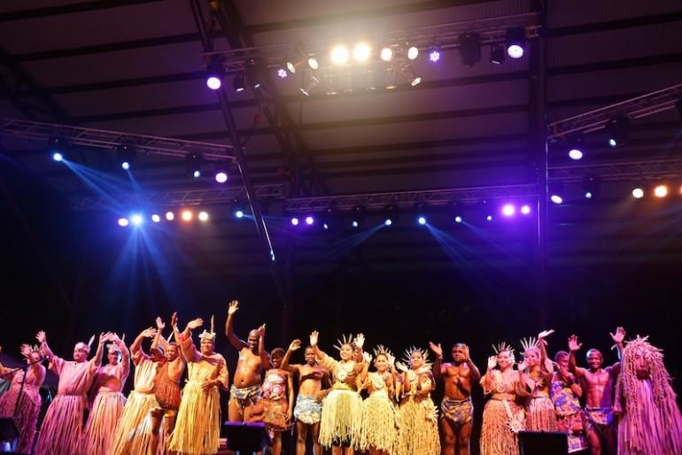 Mah Meri performing at the festival