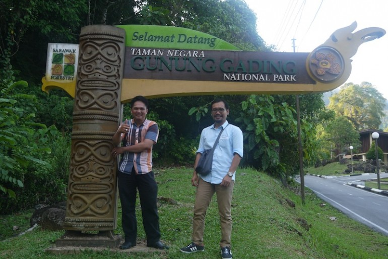 My colleagues at Gunung Gading headquarters