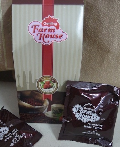 Genting Highlands product: coffee