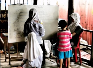 Muslim school in Koh Panyi