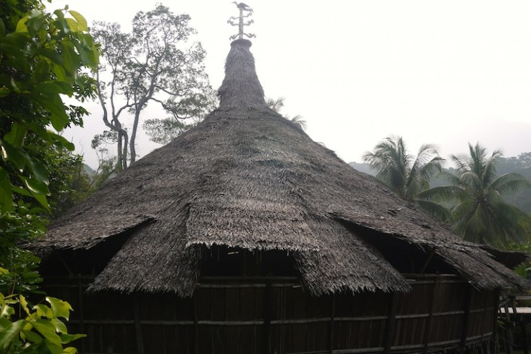 Roof of a baruk