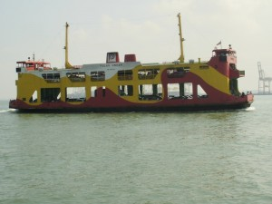 The Penang ferry