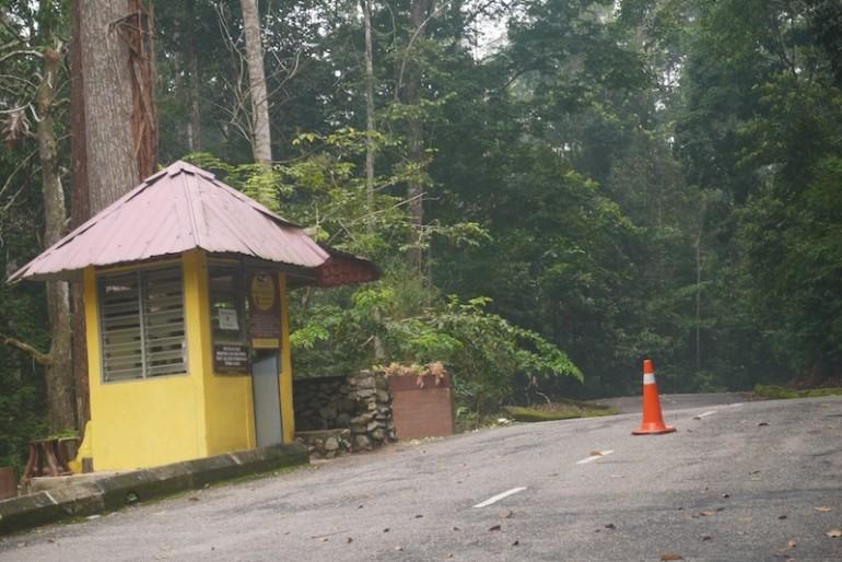 The security area