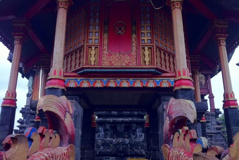 a Chinese pagoda