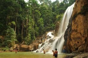 Sungai Pandan waterfall in Kuantan