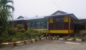 Cherating turtle sanctuary compound