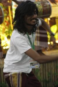 Harubee at the Rainforest World Music Festival 2015