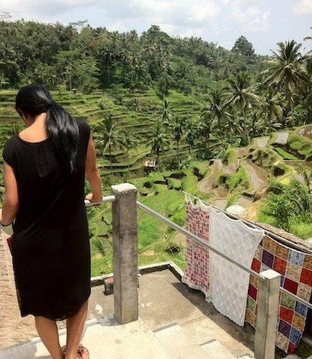 Fantastic views at Tegallagang rice terraces