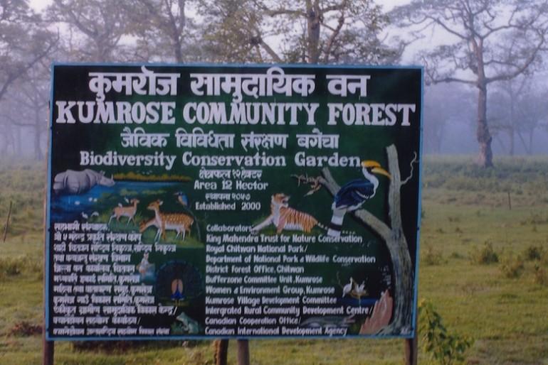 Chitwan Kumrose community forest