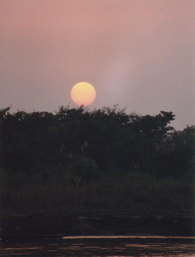 Sunset at Sauraha