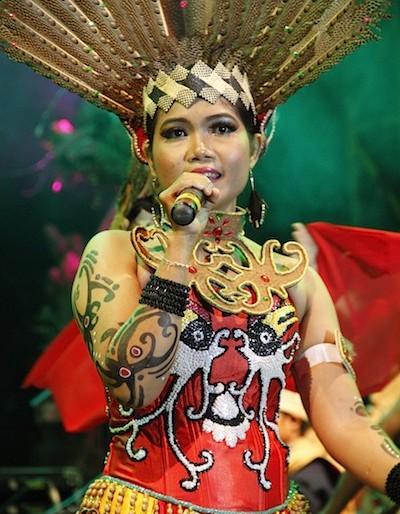 Siti creator of Spirit of the Hornbill