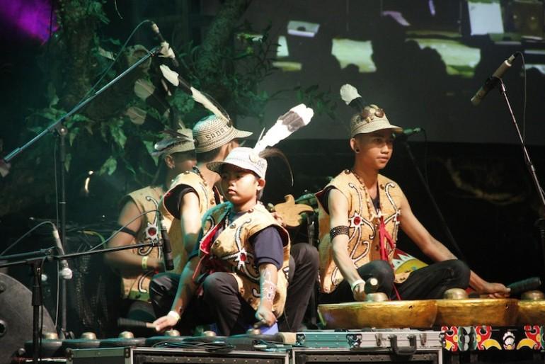 Spirit of the Hornbill musicians
