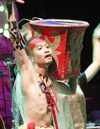 Spirit of the Hornbill dancer