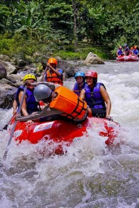 a wet and fun day, Rafting in Phang Nga