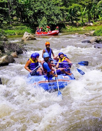 Rafting in Phang Nga