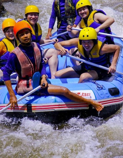 Rafting in Phang Nga is a fun for all activity
