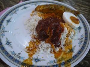 Nasi Kandar, a favourite in Butterworth