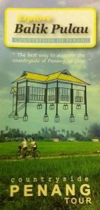 Balik Pulau cycling tour leaflet