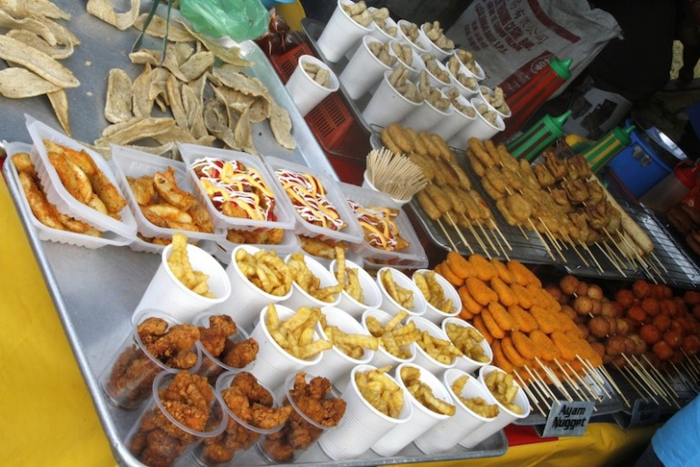 Food at the Penang Hot Air Balloon Fiesta