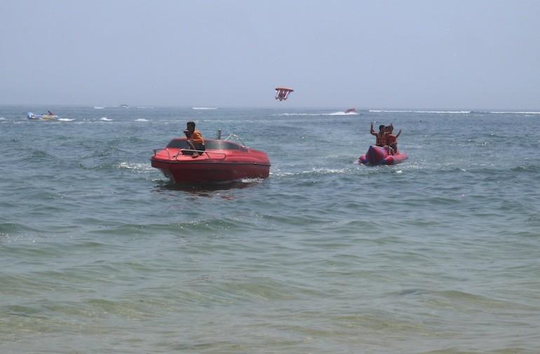 Water sports activities in Tanjung Benoa - Bali