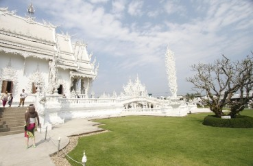 Wat Rong Khun – the white temple