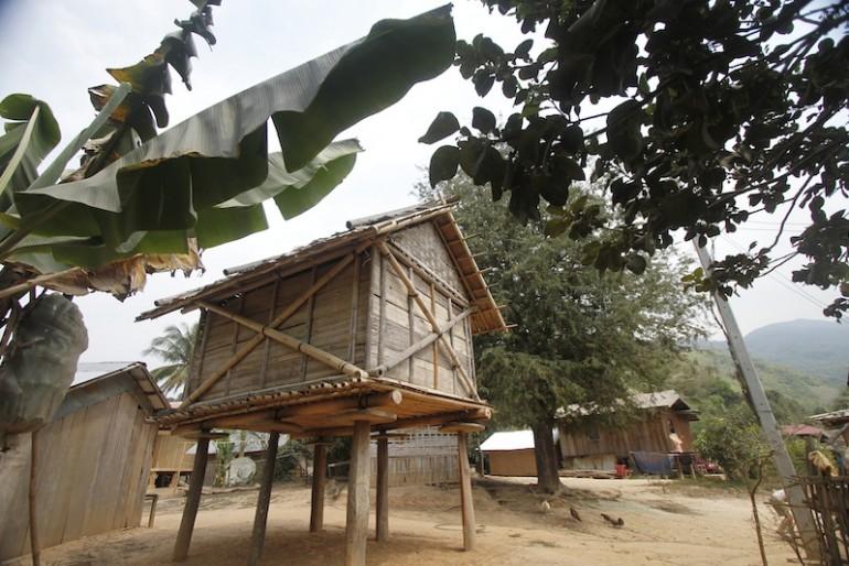 Bane Huay Palam rice barn
