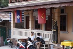Pakbeng main road
