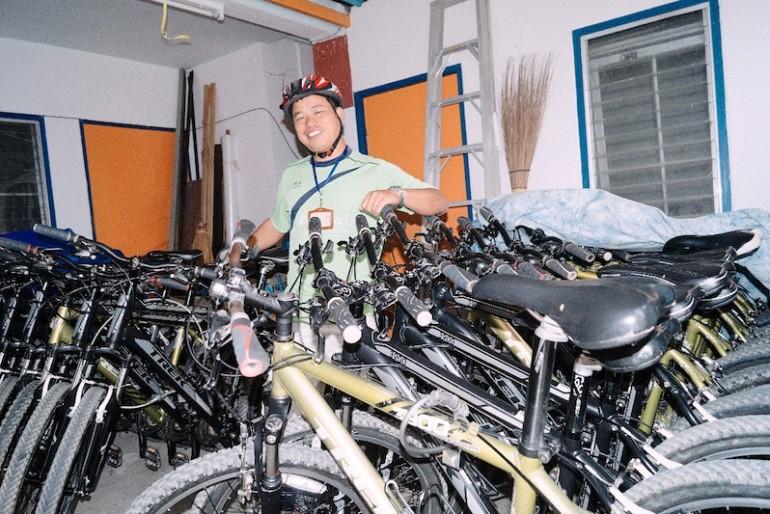 Chiang Rai Bicycle Tour bikes